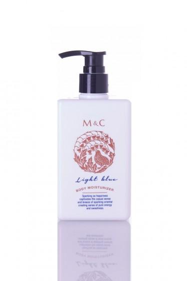 M&C Body Lotion ครีมบำรุงผิว ขนาด 230 ml  (Light Blue)