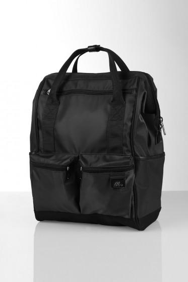 Mc Jeans กระเป๋าเป้ขนาด 16 นิ้ว - สีดำ