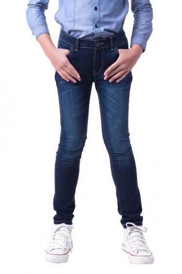 Mc mini กางเกงยีนส์ทรงขาเดฟ