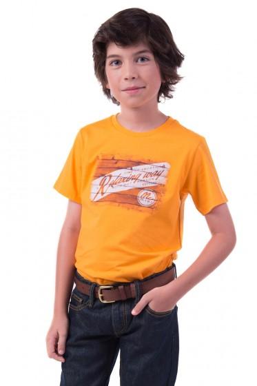 Mc mini เสื้อยืดคอกลม