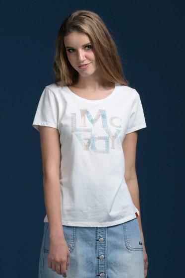 Mc Lady เสื้อยืดคอกลม