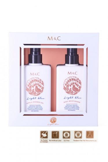M&C Body Care Gift Set (Light Blue)