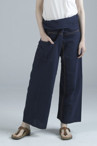 Mc Jeans กางเกงเลผ้าฝ้าย Handmade Crafts