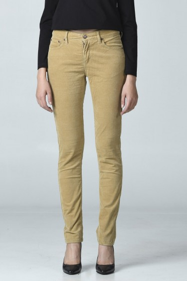 Mc Jeans กางเกงขาเดฟ ลูกฟูก