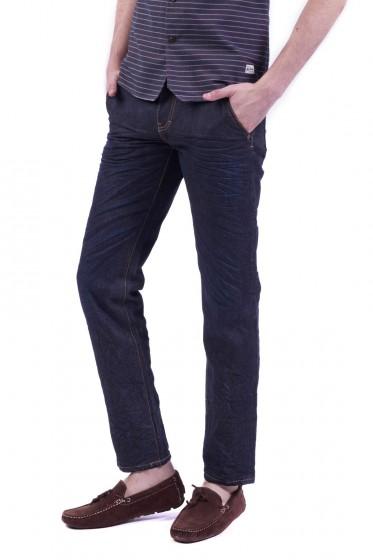 Mc Jeans กางเกงยีนส์ทรงขาตรง ริมแดง Biker Collection