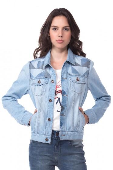 Mc Jeans เสื้อคลุมยีนส์