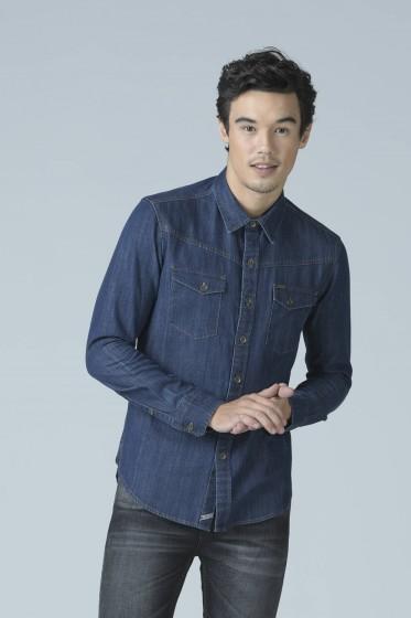 Mc Jeans เสื้อเชิ้ตแขนยาว