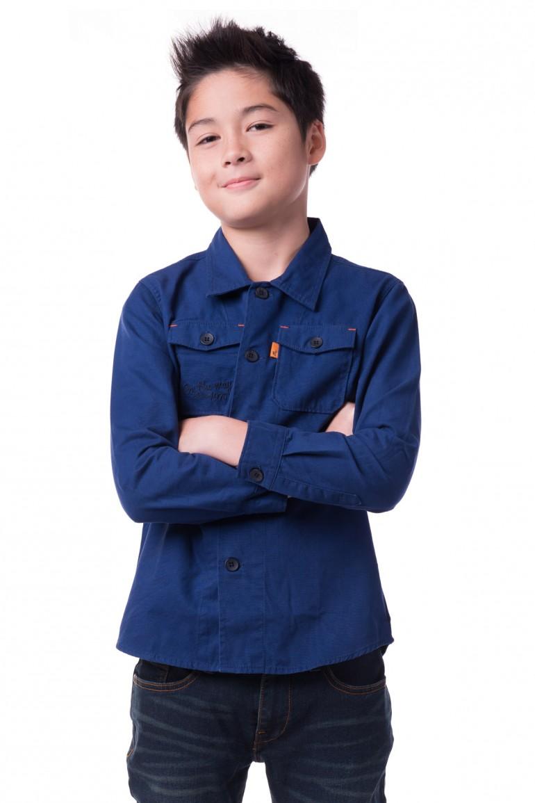 Mc mini เสื้อเชิ๊ตแขนยาว